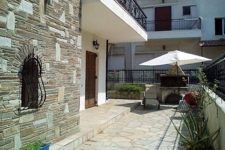 Lovely family beach house - Chalkidiki - Haus