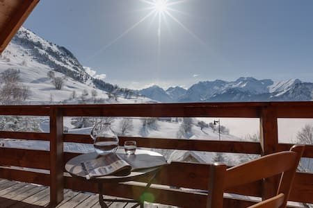 Alpe d'Huez chalet/6 ch/14 p/250m2/sauna/billard