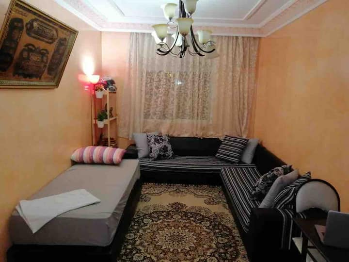 private room next to casablanca airport