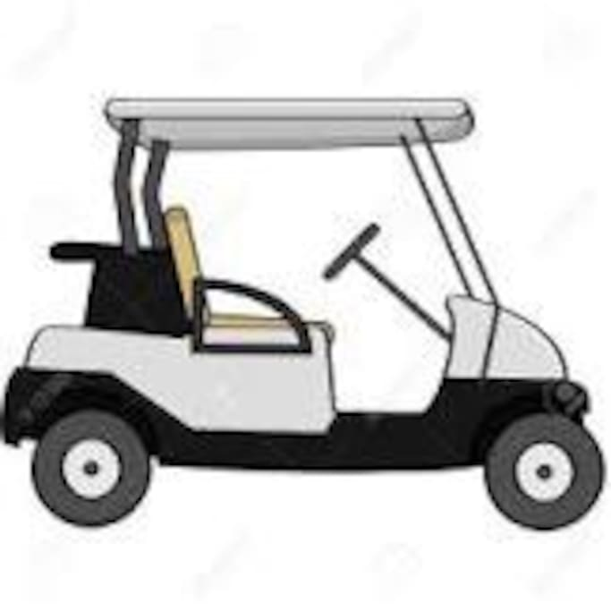 """FREE GOLF CART USAGE  Is available for your use to explore the 72 acres of property which makes up """"Paradise Lakes Resort"""".   The cost of the golf cart is ZERO.  Must have valid drivers license and sign damage waiver to use.  Explore the freedom."""