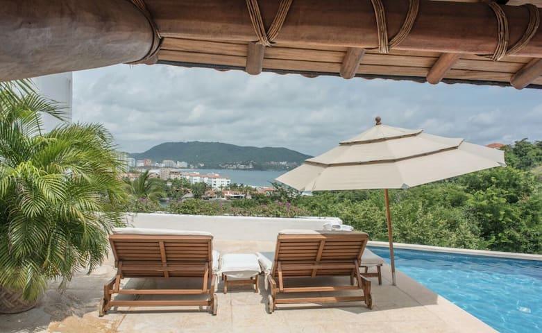 Residencia con la mejor vista de Ixtapa