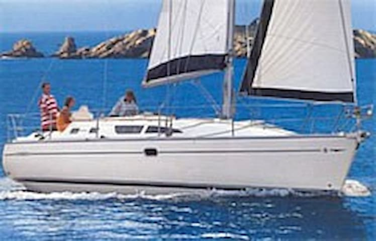 B&B in barca a vela (al porto) comet 10.9 - Fezzano - Apartment