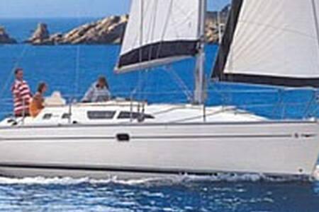 B&B in barca a vela (al porto) comet 10.9 - Fezzano - Appartamento