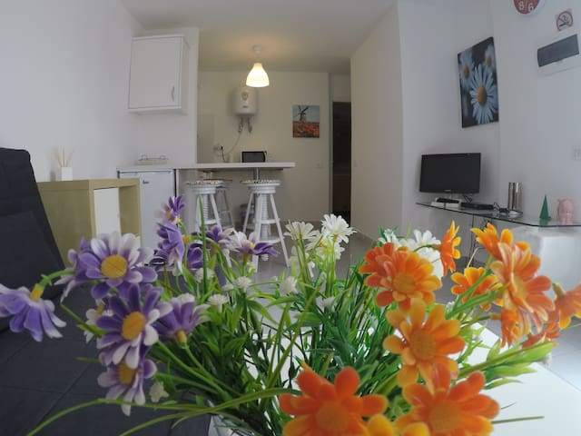 Central apartment, 5 minutes from the beach - Castillo Caleta de Fuste - Wohnung