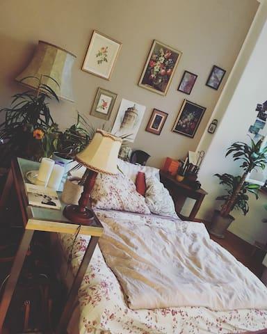 Wu.schönes Altbau Zimmer einer alten Villa+Fahrrad - Frankfurt (n. Odrą) - Apartament