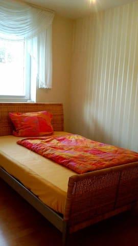 Zimmer mit Küche, Bad, Terasse und 15 km zum Meer - Bobitz - Huoneisto