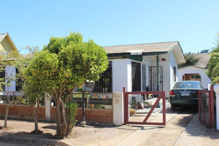 Casa El Quisco 8 personas, Quincho, full equipada