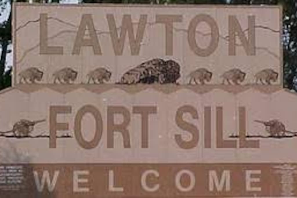 Welcome to Lawton/Ft Sill!