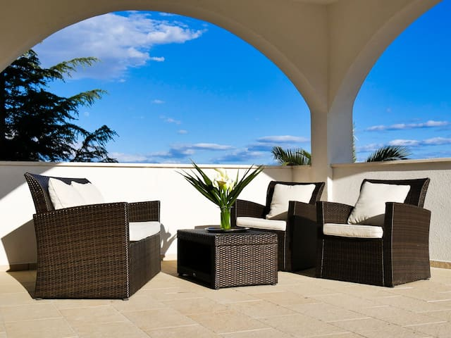 Large terrace with lovely views - 1
