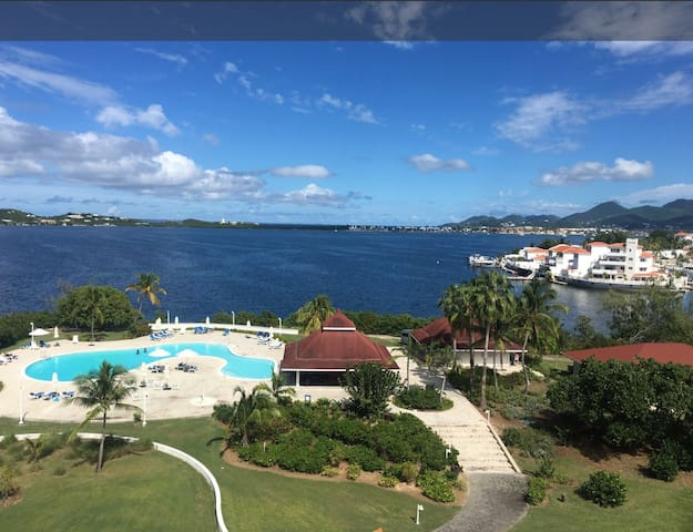 Breathtaking View Towers at Mullet Bay Easter Week - Lowlands - Apartamento