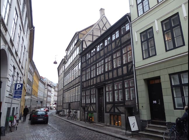 Unique and charming flat in the center of CPH