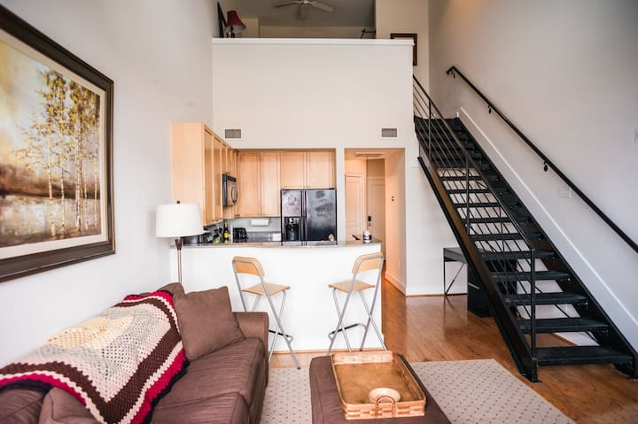 Super Convenient Loft Condo in South End