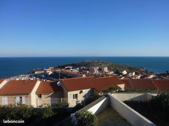 Appartement T2 vue panoramique mer
