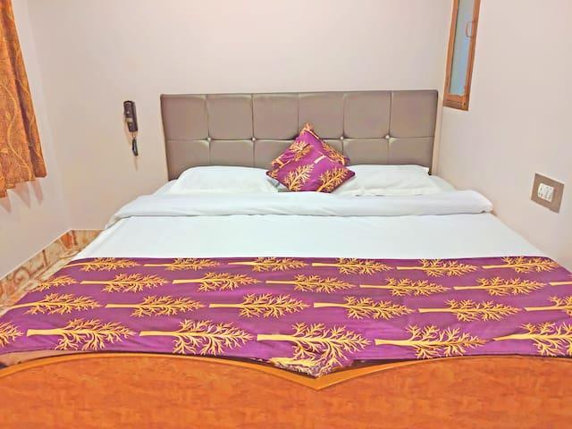Standard Fan Room At Assi Ghat Breakfast