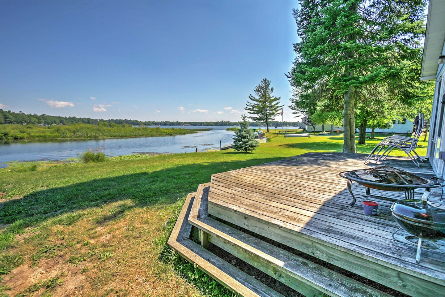 These lake views will take your breath away!