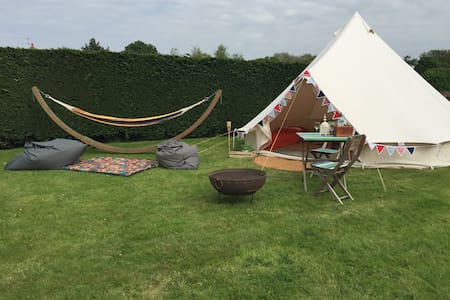 Glamping Close to Beach - Bell Tent for 2-4 people - Hunstanton - Khemah