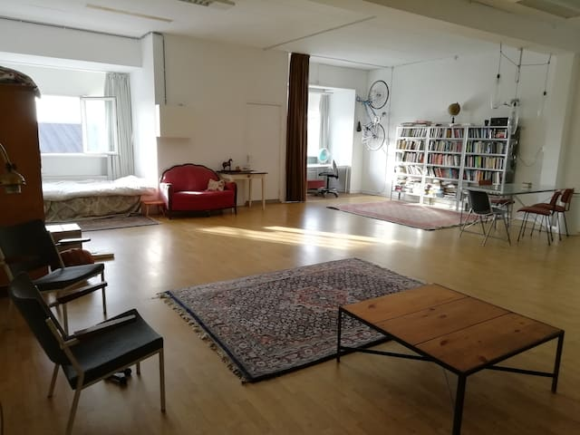Spacious Loft, Amsterdam, one month €1500,- total