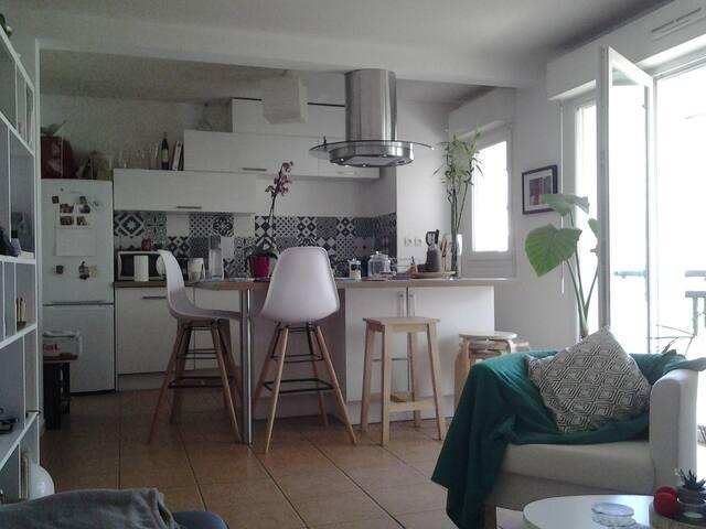 ongi etorri ! !  Chambres chez l'habitant - Ciboure - Apto. en complejo residencial