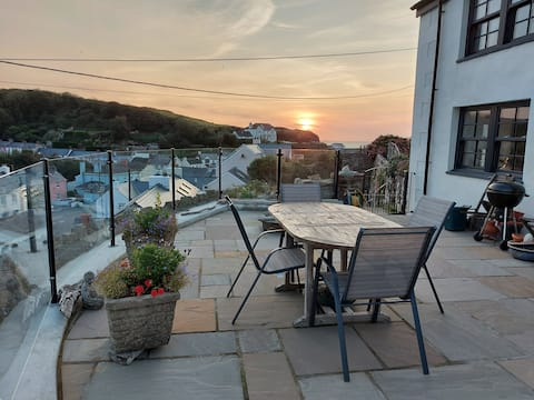 A beautiful cottage apartment in a fishing village