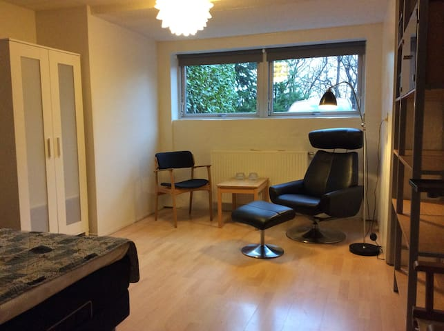 Small apartment 6 km from Aarhus C. - Brabrand - Inap sarapan