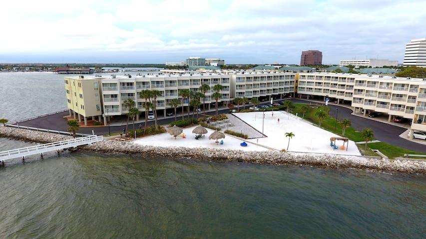 Fabulous waterfront views ECO Shields clean