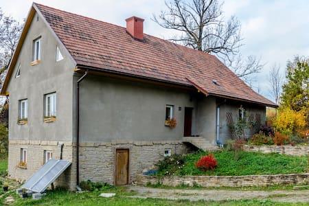 Samodzielny apartament z 2 sypialniami i salonem - Stryszów - Leilighet