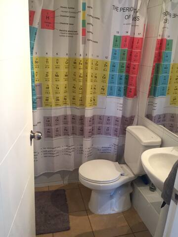 Baño completo para uso exclusivo