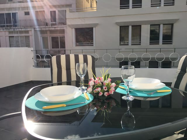 Terrace Apartment - in the middle of town