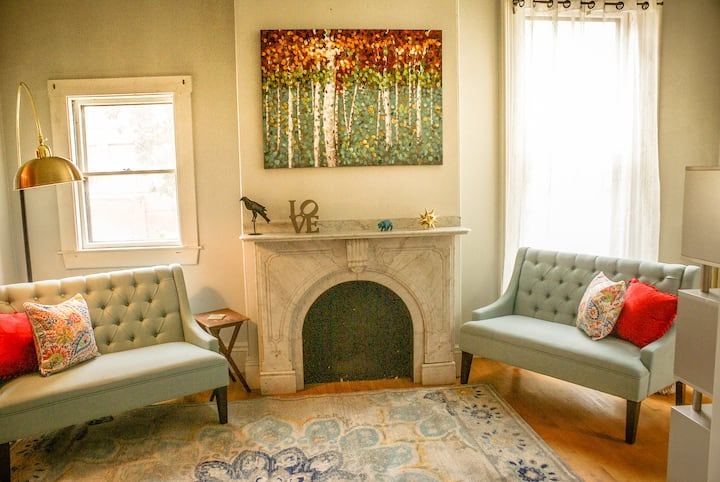 Comfy Flat in lively Arts District