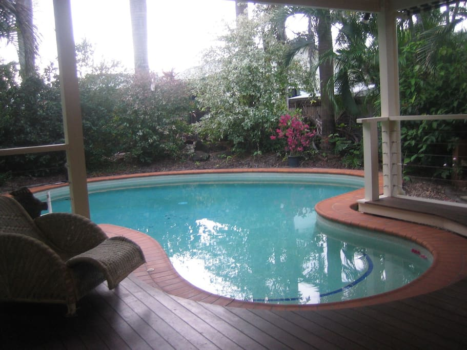 swimming pool and out door area