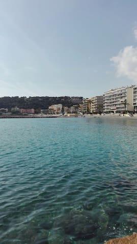 sun & sea apartament, small & nice , amazing - Roquebrune-Cap-Martin - Daire