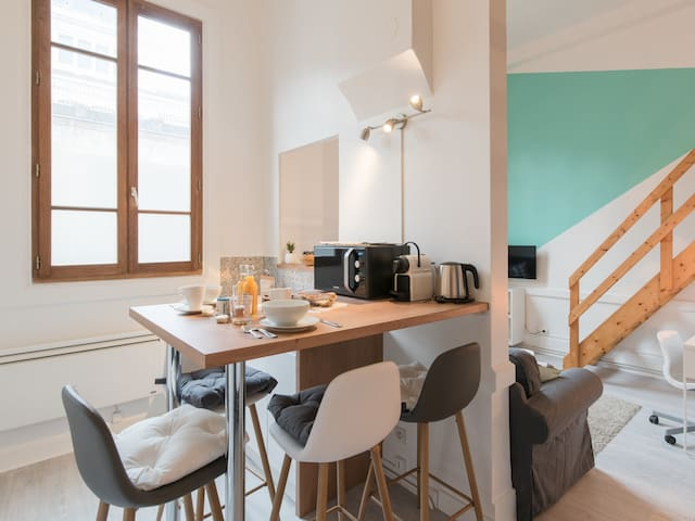 Beautiful Cosy Apartment - 500m PART-DIEU