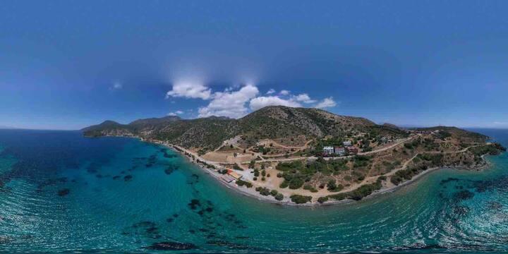 Muhteşem deniz manzarası Mandalya Butik Otel