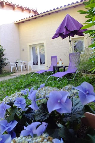Gîte avec jardin privatif - Nant
