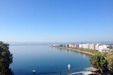 Amazing seafront apartment up to 7 people - Evia - Wohnung