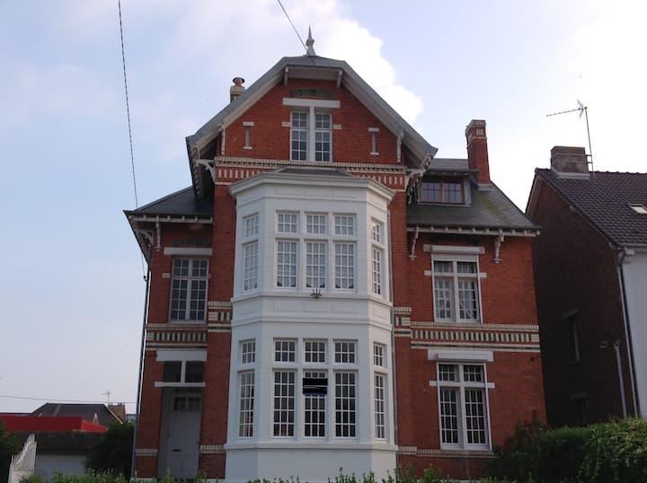 Berck Plage Villa la Roseraie (16 personnes)