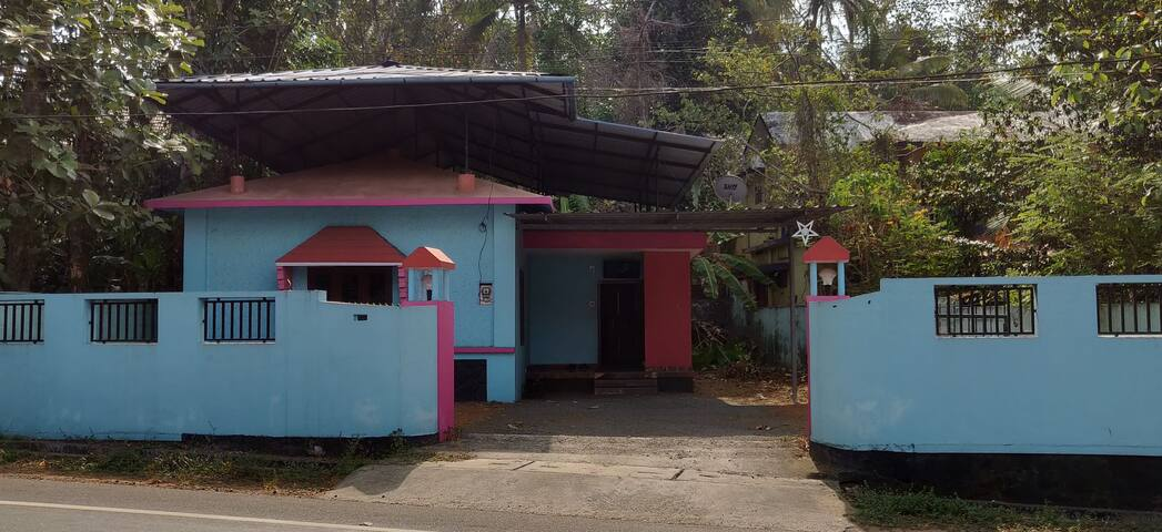 NRI Vacation Home at Pattithanam Jn Ettumanoor KTM