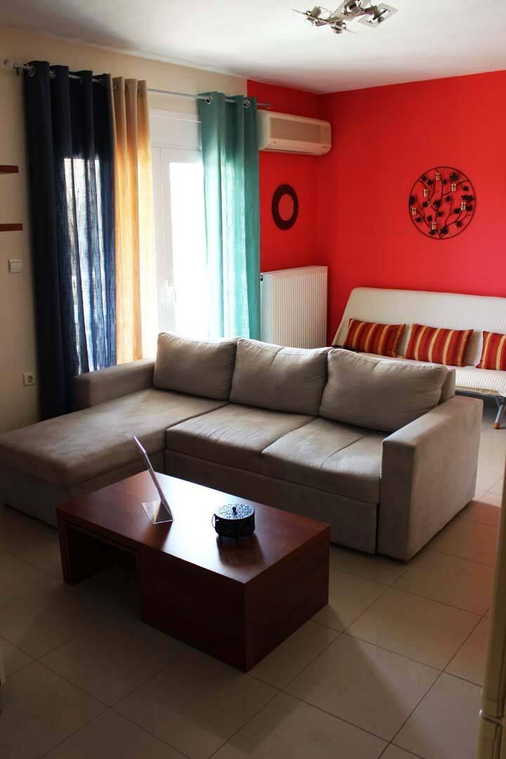 Luxus Executive apartment next to Ammolofi