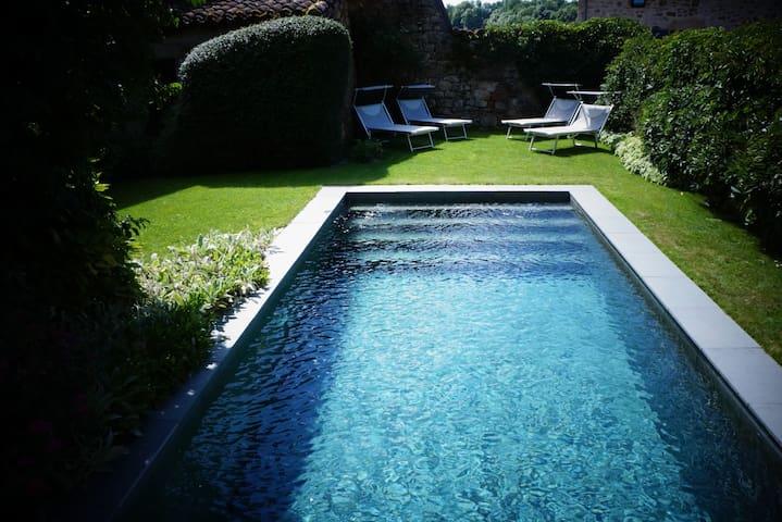 Maison Rossignol, piscine chauffée & jardin