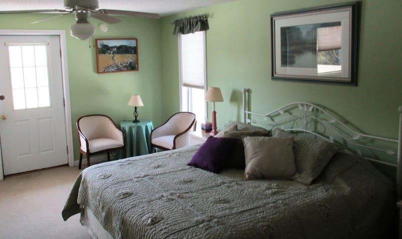 Woodsong Inn Osprey Room - Frankford - Bed & Breakfast