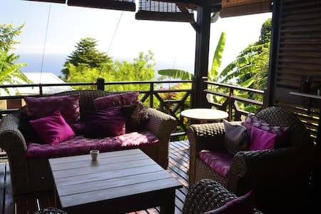 Maison confortable avec vue océan - Les Avirons - Hus