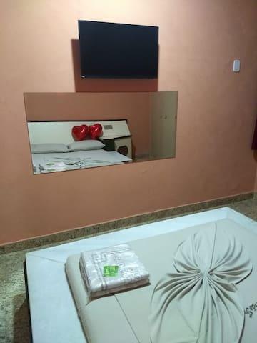 Hotel discreto, Barra da Tijuca, quarto 1