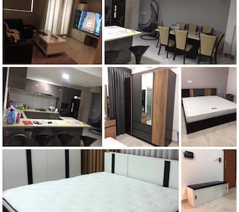 Luxury 3 Room Apartment with customized furniture.