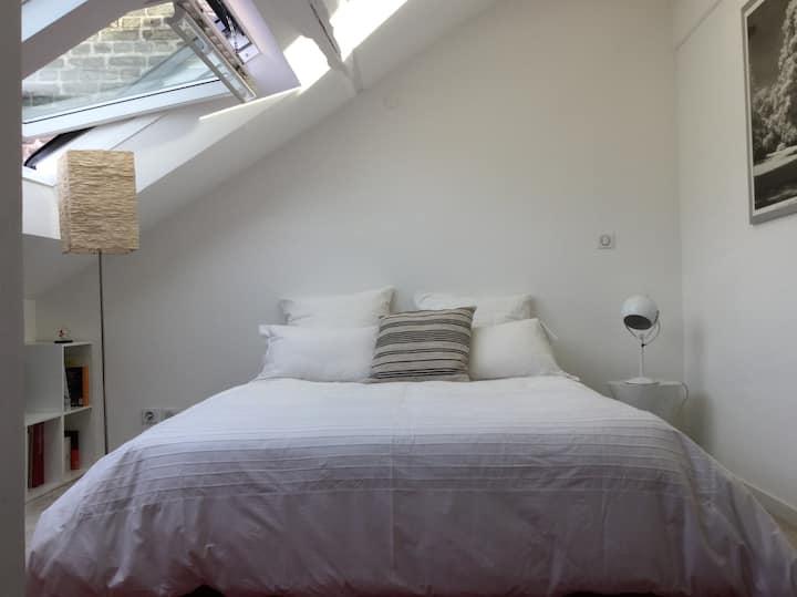 Studio de grand confort  dans maison  rémoise