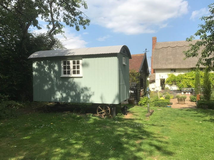 Shepherds Hut at Grey Cottage