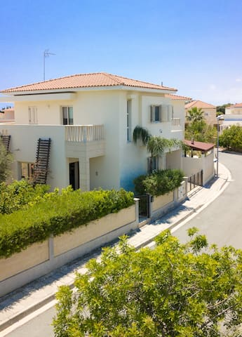 Luxurious Private Larnaca Villa by the beach.