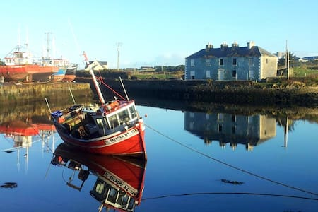 Townhouse, Seaside letting in lovely Belmullet - Townhouse