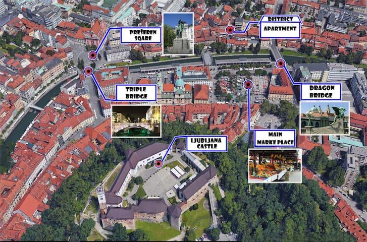 District Studio 3 in the heart of Ljubljana