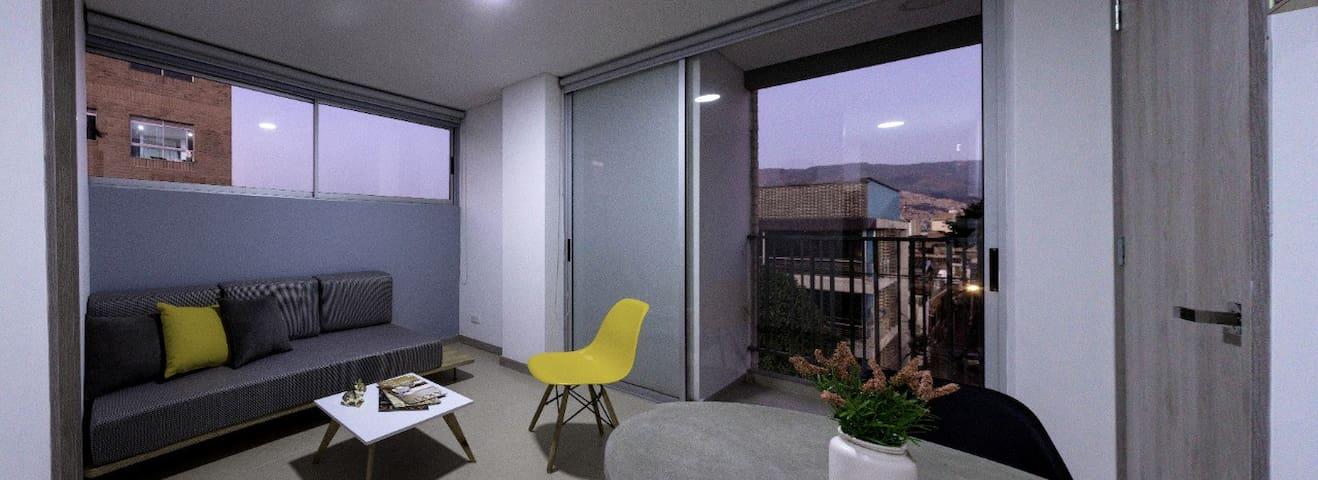 1 Apartamento laureles medellín moderno y limpio