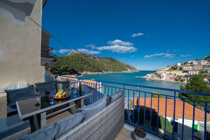 Villa Galini with magnificent sea view - New Brand